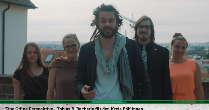 Eine Grüne Perspektive - Tobias B. Bacherle für den Wahlkreis Böblingen